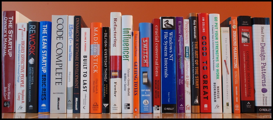 Startup books for read