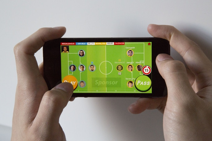 soccer mobile game