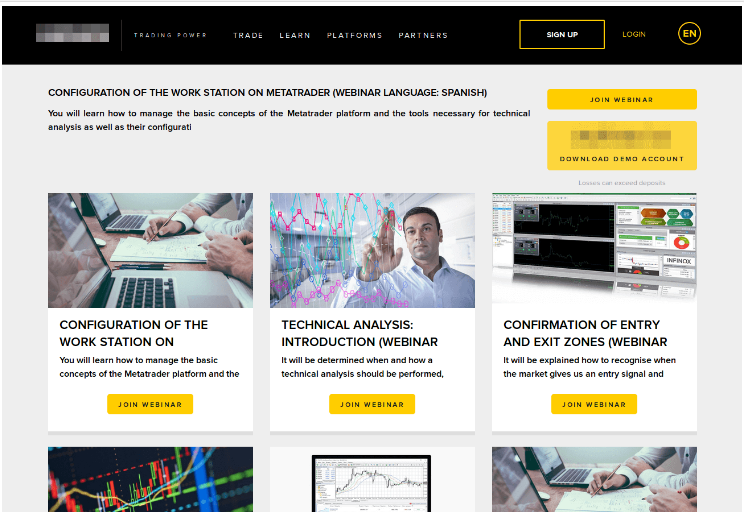 trading education portal